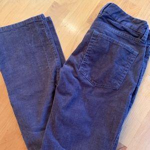 Purple/grey corduroy jeans
